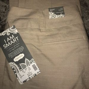 Maurices Smart tan dress pant